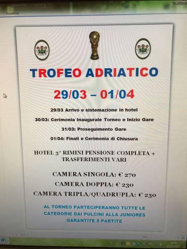 Trofeo Adriatico 2018